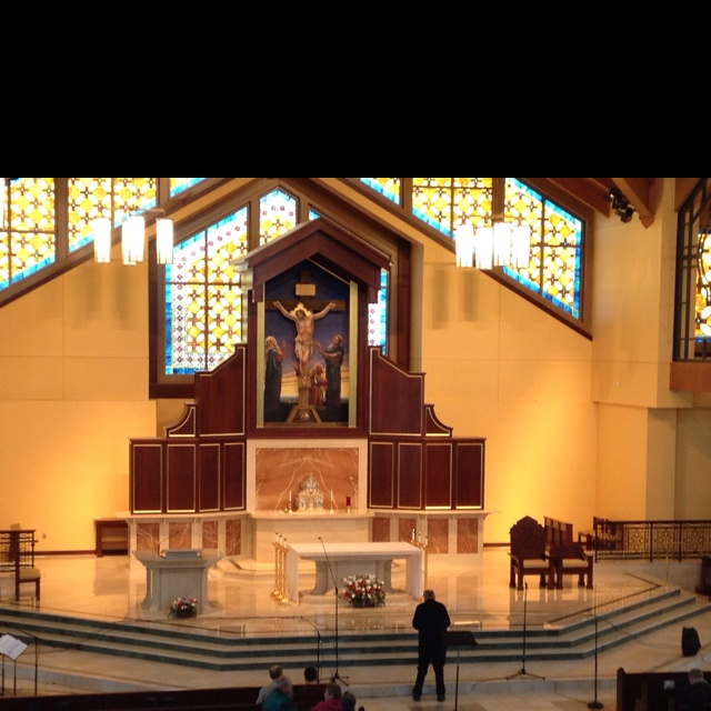 Where I sang in a Pro-Life concert Jan. 22nd. Our Lady of Guadeloupe in Doylestown PA