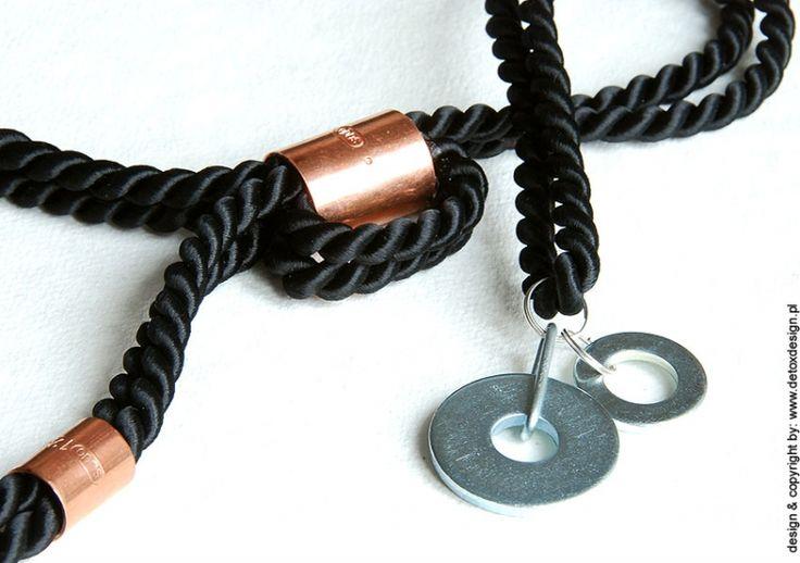 Ale krawat-ka! 05 - naszyjniki - detoxdesign.pl