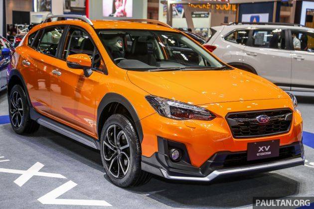 Bangkok 2019 Subaru Xv Gt Edition Bodykit Leather Subaru Subaru Crosstrek Good Looking Cars