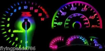 7 COLOR LED LIGHT BULBS FOR CAR DASHBOARD...LUV IT!!