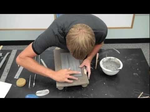 How To Make A Ceramic Slab Plate  Very useful info