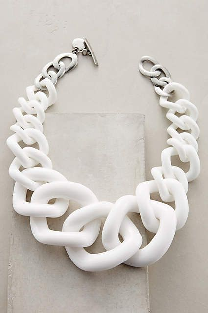 Crescendo Link Necklace - anthropologie.com