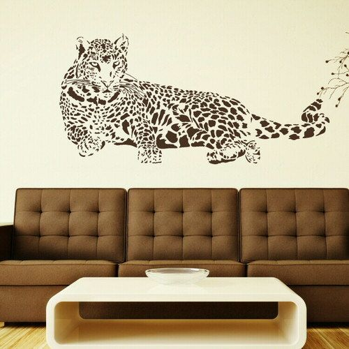 Cat Animal Removable Wall Stickers / Wall Decals / Wall Art Murals Large Big  New CA4