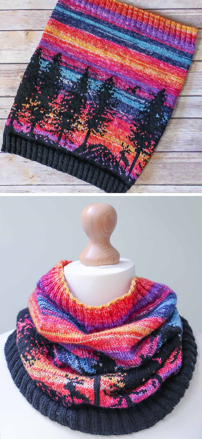 310 best Multi-Colored Yarn Knitting Patterns images on Pinterest