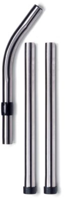 3 Piece Chrome Extension Wand Set for Henry and Numatic 32mm vacuum cleaners