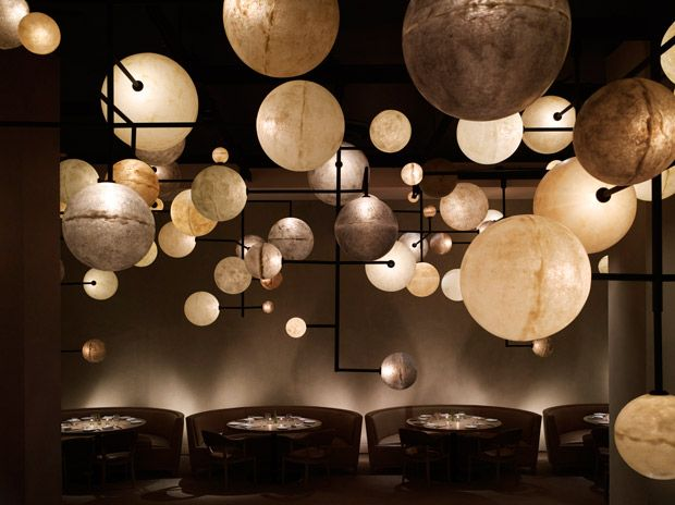 Studio 54 co-founder Ian Schrager recently unrolled Public, an affordable luxury hotel in downtown Chicago.: Pumps Rooms, Public Chicago, Interiors Design, Yabupushelberg, Suppers Club, Public Hotels, Restaurant, Luxury Hotels, Yabu Pushelberg