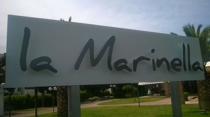 La Marinella - backlight sign