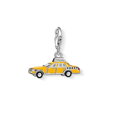 THOMAS SABO Charm Club  Charm Yellow Cab
