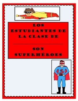 This is a class book with both English and Spanish versions. Print 1 cover page and a student page for each child. put together to create a class book! Great for guided reading, literacy centers, or to read during morning meeting!