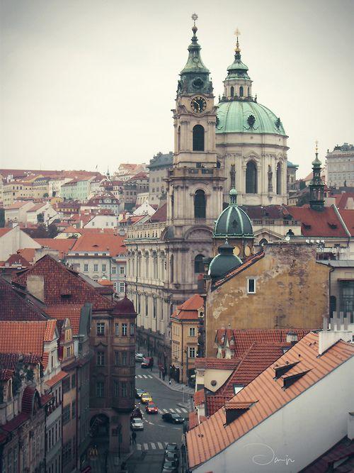 Eglise Saint Nicolas de Mala Strana à Prague