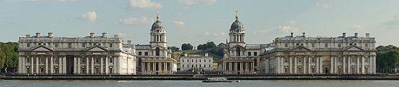 Old Royal Naval College, el palacio de #Versalles inglés que no lo fue. http://www.guias.travel/blog/old-royal-naval-college-el-palacio-de-versalles-ingles-que-no-lo-fue/ #Londres #Greenwich #viajar