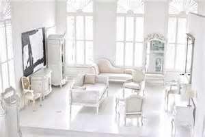 Formal living room in white. #RogersWinterWhites