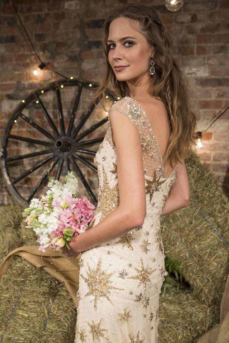 The 132 best Jenny Packham images on Pinterest | 2017 bridal, Short ...
