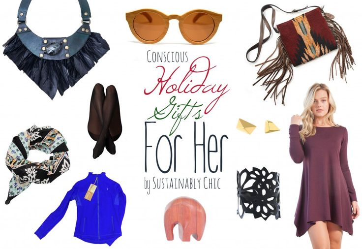 Conscious Holiday Shopping Gift Guide by Sustainable Chic
