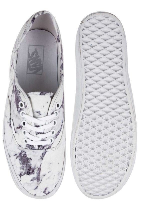 Vans Authentic Schoen (marble true white)
