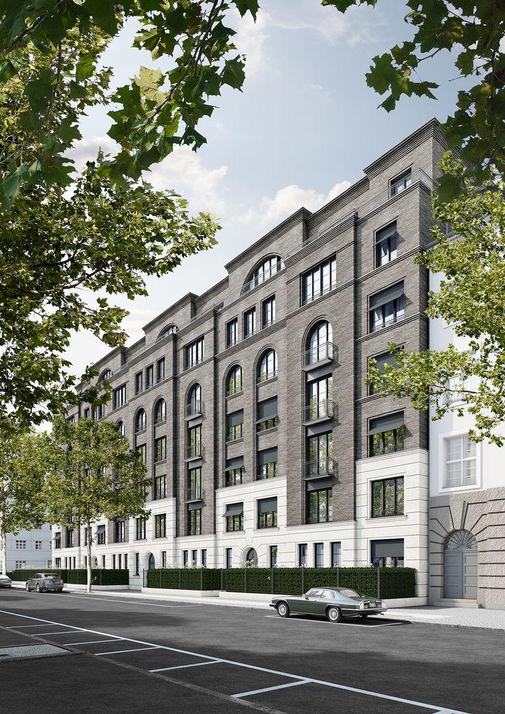 Wohnhaus mit 45 Wohneinheiten, Berlin Charlottenburg ~ Great pin! For Oahu architectural design visit http://ownerbuiltdesign.com