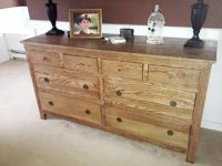Free DIY Furniture Plans to Build Pottery Barn Inspired Dawson Extra Wide Dresser via  www.thedesignconfidential.com