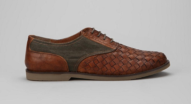 Hawkings McGill Woven Oxford: Vacation shoes.