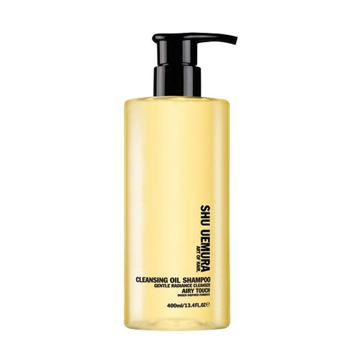"Katia, Birchbox's cofounder: ""My shampoo is an oil-based shampoo, using the same concept as oil-based cleanser — Shu Uemura Art of Hair Cleansing Oil Shampoo. It doesn't strip hair of its oils."" SHU UEMURA Art of Hair Cleansing Oil Shampoo, $55.00 #birchbox"