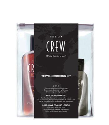American Crew Travel Grooming Kit #American #Crew #haarproducten #haarverzorging #kappersbenodigdheden #barbershop #heren #man