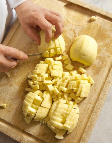 Fine tarte sablée aux pommes et aux amandes pommes
