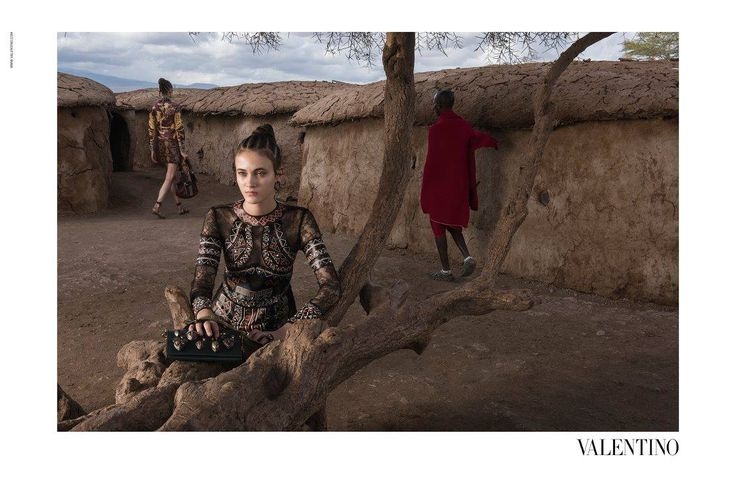 Valentino 2016 Spring/Summer campaign
