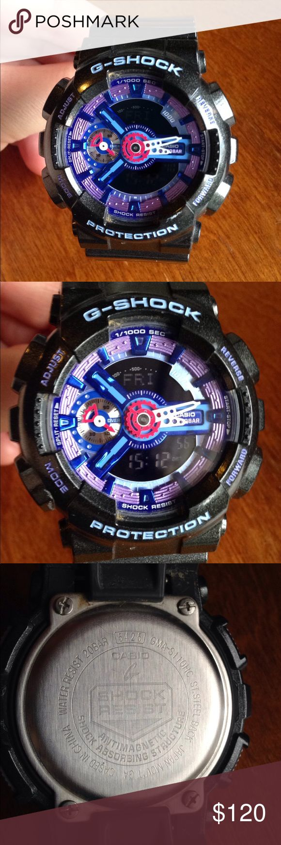 G-Shock Protection watch Like-new G-Shock Protection watch. Water resist 20Bar. Battery already in the watch. G-Shock Accessories Watches