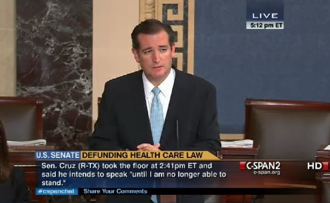 The Double Absurdity of Ted Cruz's 'Filibuster' Why the senator's last stand against Obamacare just doesn't make sense MOLLY BALLSEP 24 2013...