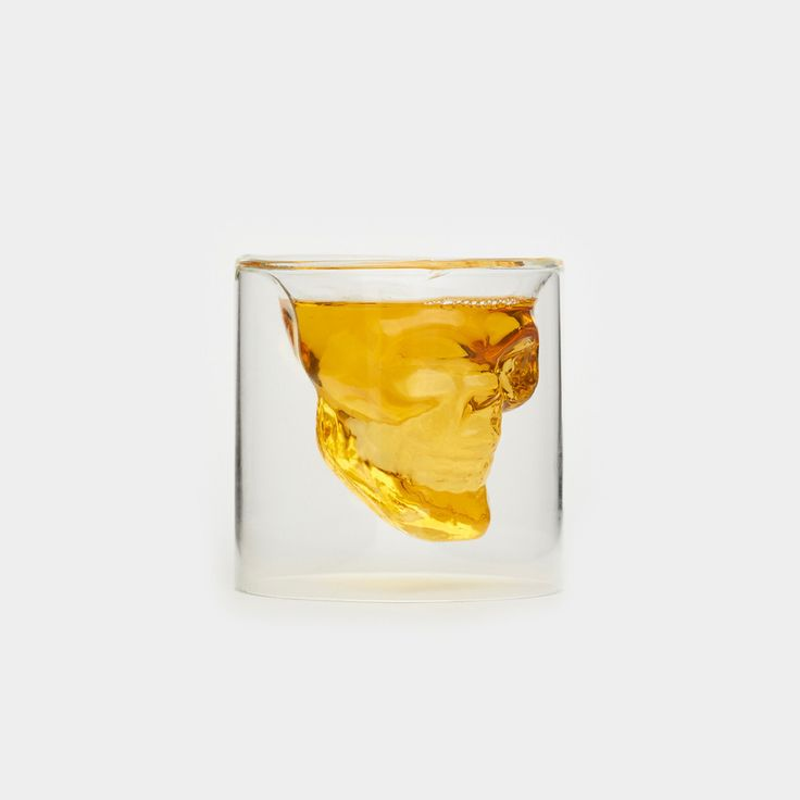 Skull Shot Glass Shot Glass by Fred & Friends - Cool Material - 1
