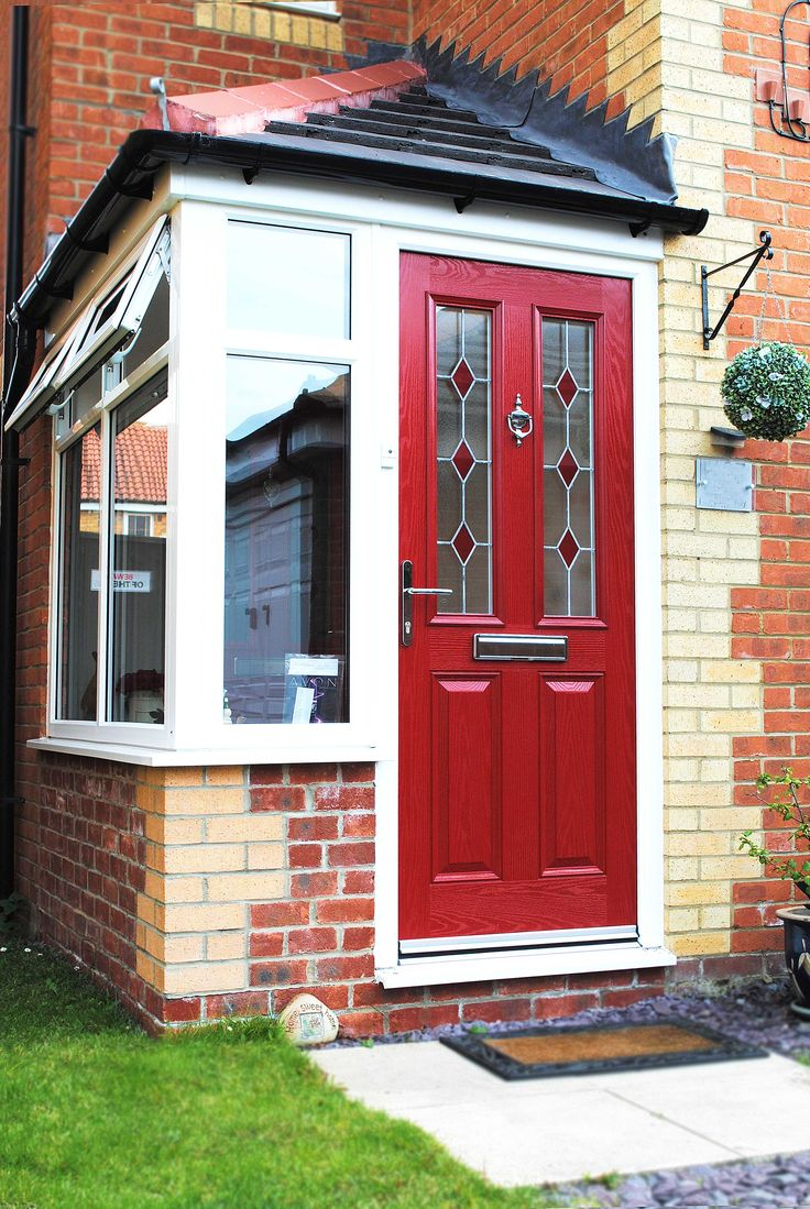 Front Doors can make a huge impact on the style of your Home, Usually the first thing, guests and visitors focus on, having a beautiful Entrance can be important for the upkeep and the style of your home, Here one of our customers has Chosen a beautiful 'Altmore' Red Composite Fibre Glass door. #compositedoor #martonwindows #middlesbrough #redcar #cleveland #homedecor #homeimprovements Visit www.martonwindows.co.uk