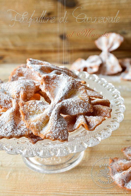 Menta e Cioccolato: Farfalline di Carnevale al Marsala
