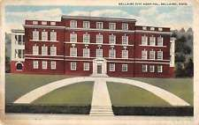 Bellaire Ohio City Hospital Antique Postcard J48487