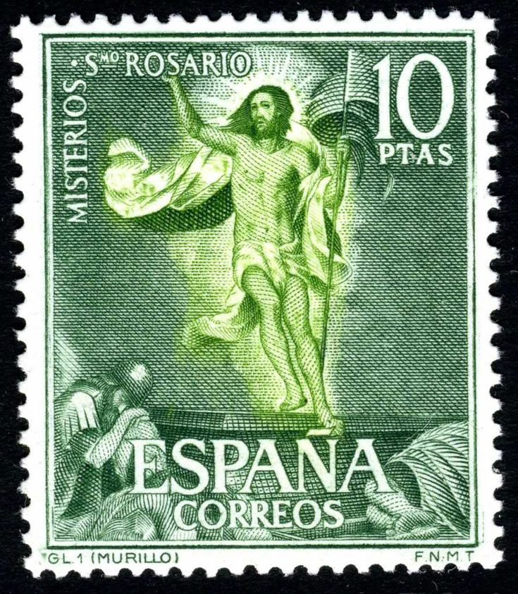 MISTERIOS DEL SANTÍSIMO ROSARIO - 1962