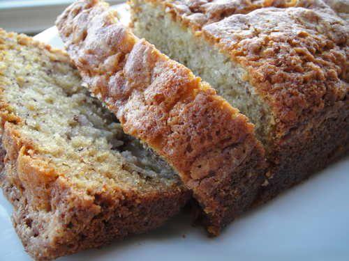 Best Moist Banana Bread with Applesauce Recipe http://easybananarecipes.com/moist-banana-bread-applesauce-recipe/