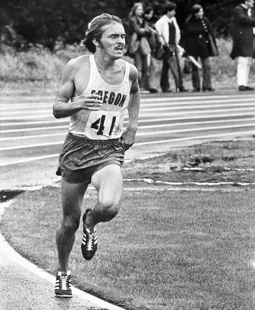 Steve Prefontaine sets a new American record in the 3000m event at the Rose Festival Track and Field Meet, Mt. Hood Community College track, Gresham, Oregon, June 24, 1972 (PLUS: The amazing story of Jere Van Dyk, former Oregon runner) | Flickr - Photo Sharing!