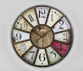 Reloj redondo pared.
