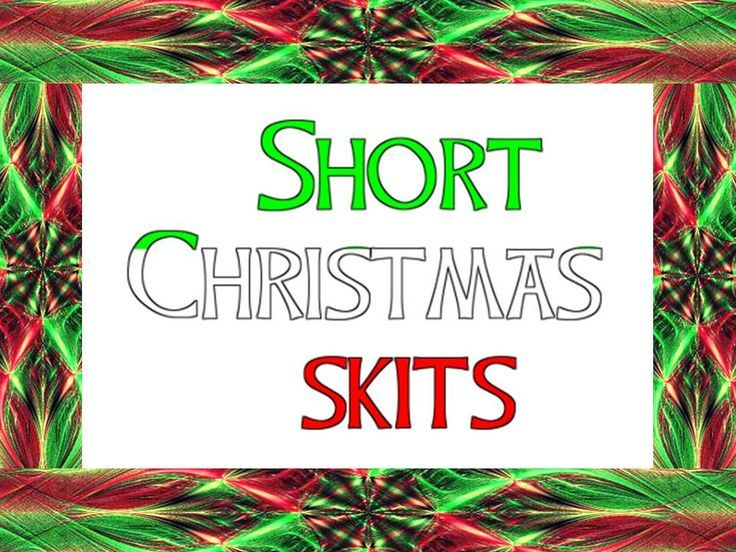Shorter Christmas skits- Freebie from Fools for Christ