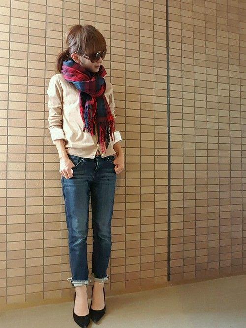 GAPのパンツを使ったsakuraのコーディネートです。WEARはモデル・俳優・ショップスタッフなどの着こなしをチェックできるファッションコーディネートサイトです。