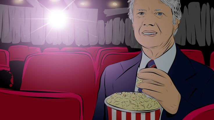 ARTICLE: Every Single Movie That Jimmy Carter Watched at the White House.   Matt Novak Filed to: jimmy carter9/15/15 4:30pm