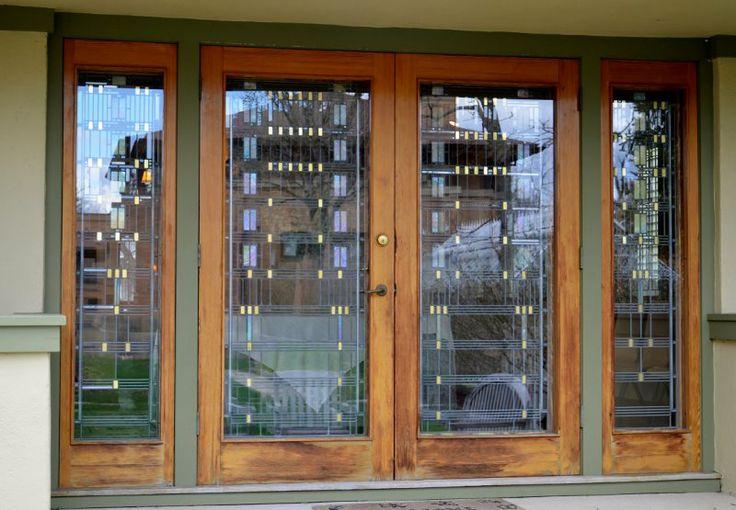 The gardener's cottage patio doors