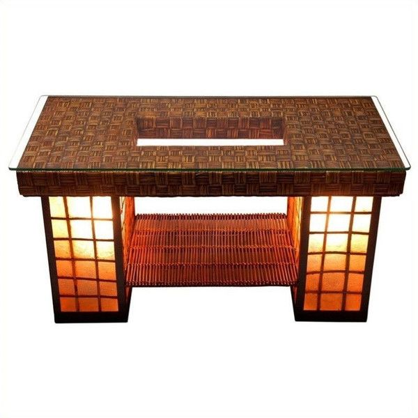 asian influenced furniture. simple furniture oriental furniture renato coffee table 335  liked on polyvore featuring  home with asian influenced