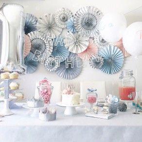 ROSE QUARTZ AND SERENITY|1歳|男の子|女の子|誕生日|キッズバースデーパーティー事例|ファーストバースデー|Tokyo Flamingo|ARCH DAYS