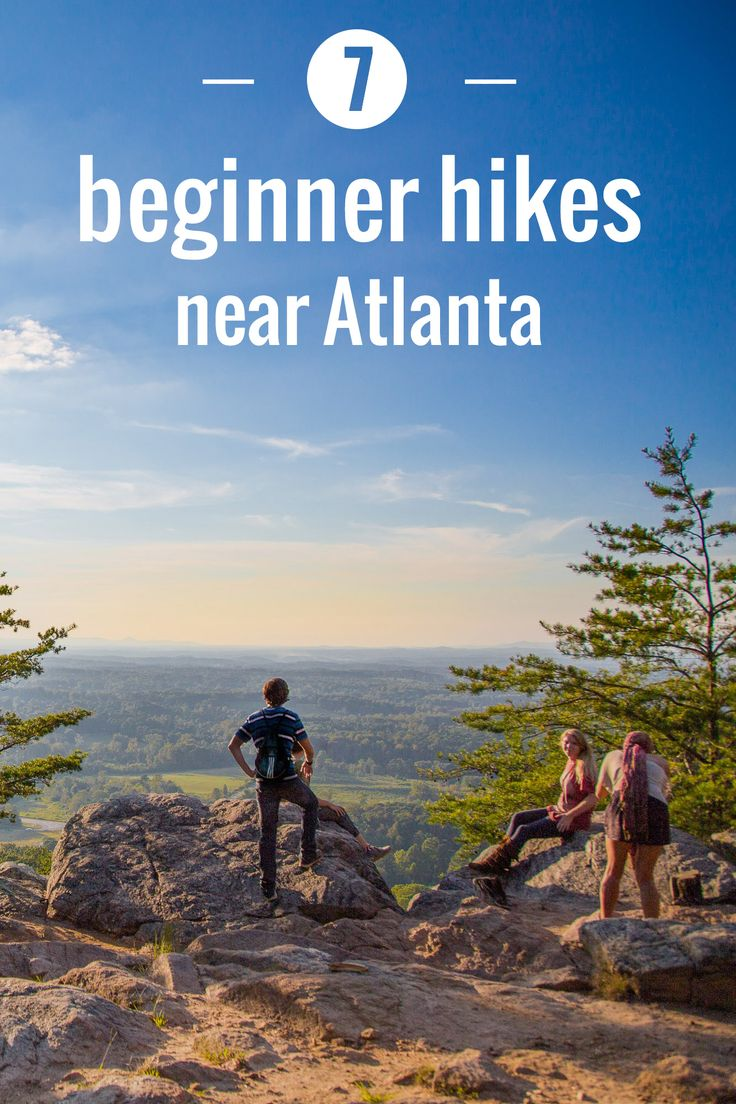Hiking for beginners: A plan to progress through Atlanta's trails