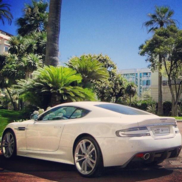 Aston Martin! Beautiful in slick White!