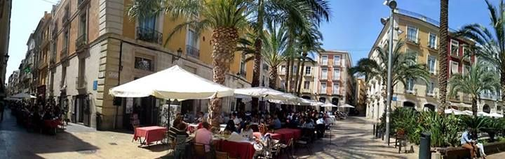 23 апреля - прекрасный солнечный день в Аликанте #Alicante, #Spain