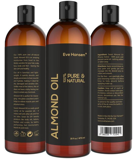 Eve Hansen Almond Oil