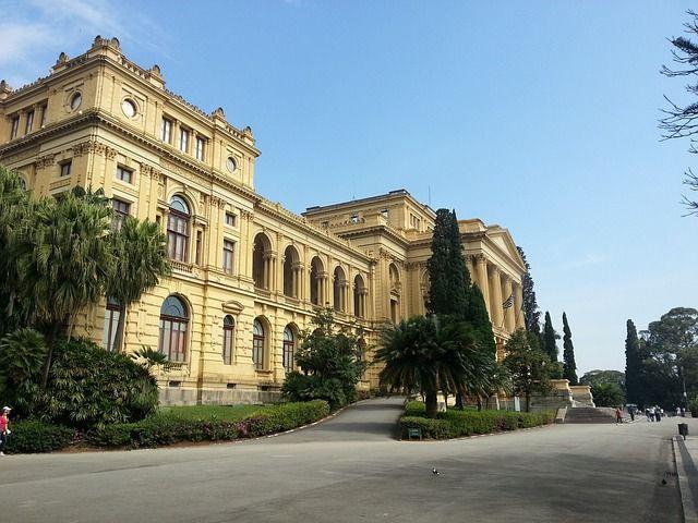 Brazilian history museum - South America's Biggest City- Sao Paulo Brazil