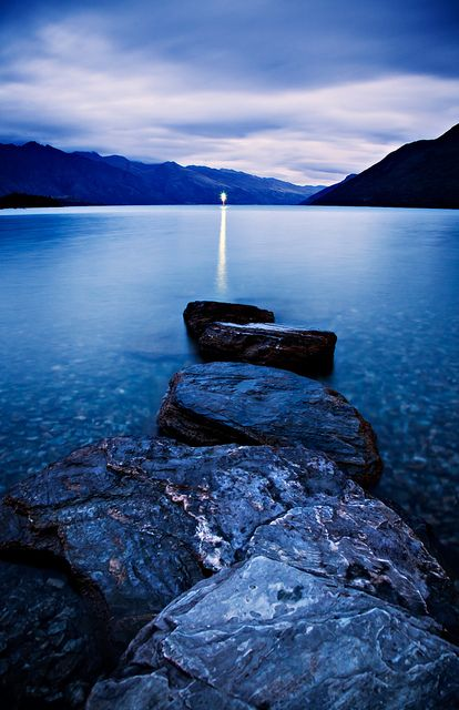 Not only do I want to visit Wakatipu Blue in Queenstown, New Zealand because it is stunning... but it has penguins!