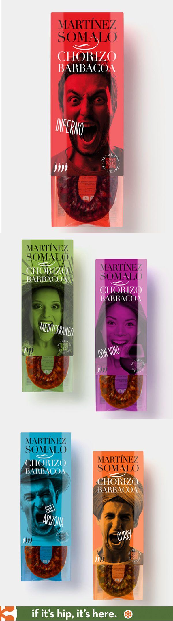 Awesome Chorizo Barbacoa hot #packaging PD