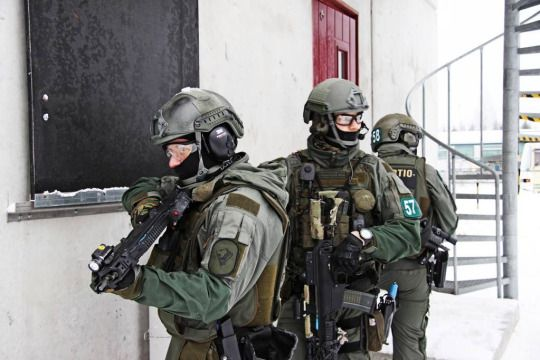 Finnish Border Guard Special Operation Unit